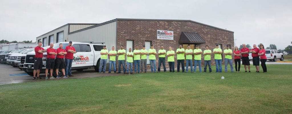 RainTech Roofing - Our Team